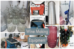 Wine Making  Equipment - For Sale